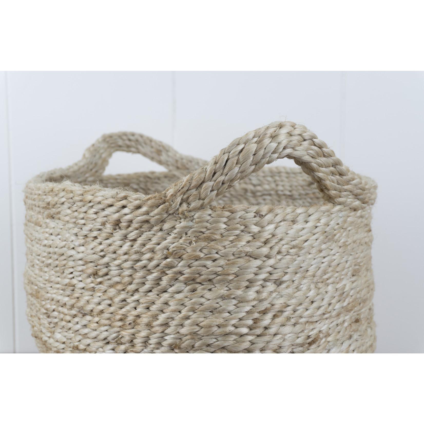 Small Oval Jute Basket