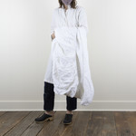 Linen Fitted Sheet - Queen - white