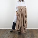 Linen Fitted Sheet- Queen - fawn
