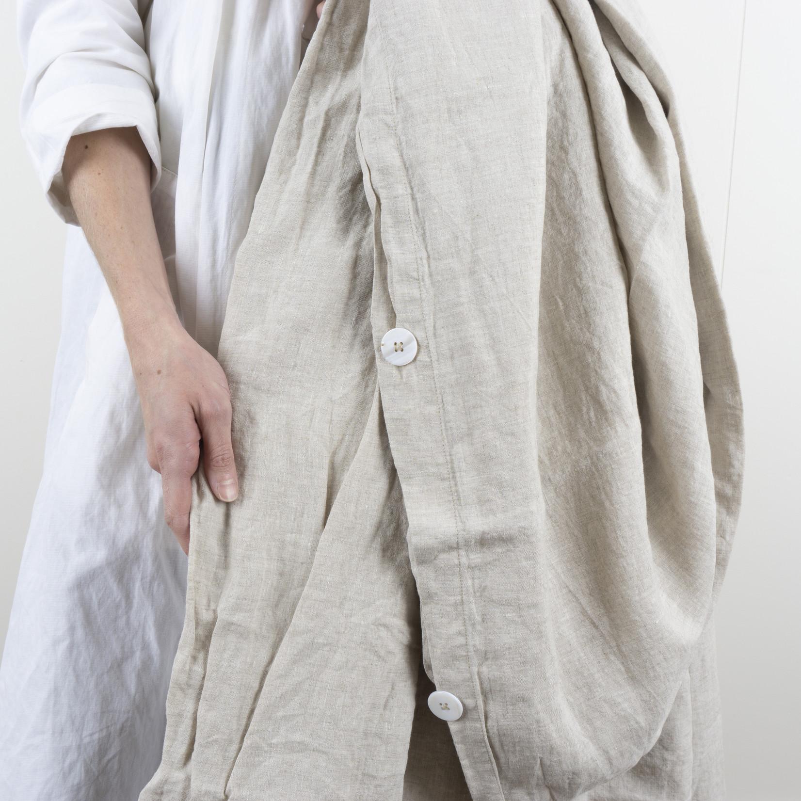 Linen Duvet Cover - Queen - natural