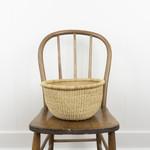 Woven Grass Handless Basket- small