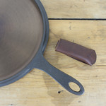 Leather Sleeve for Cast Iron Skillet