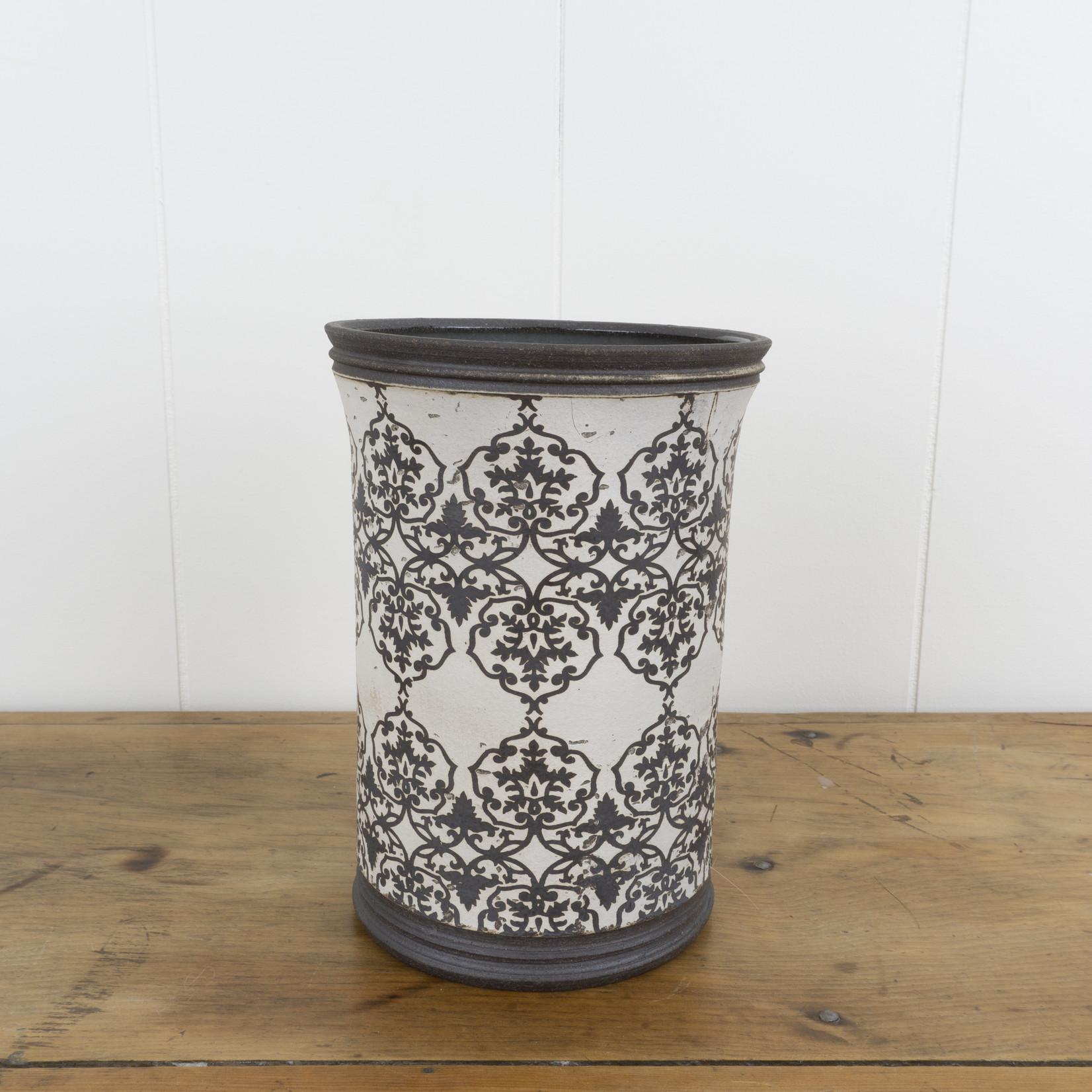 Large Ceramic Utensil Crock