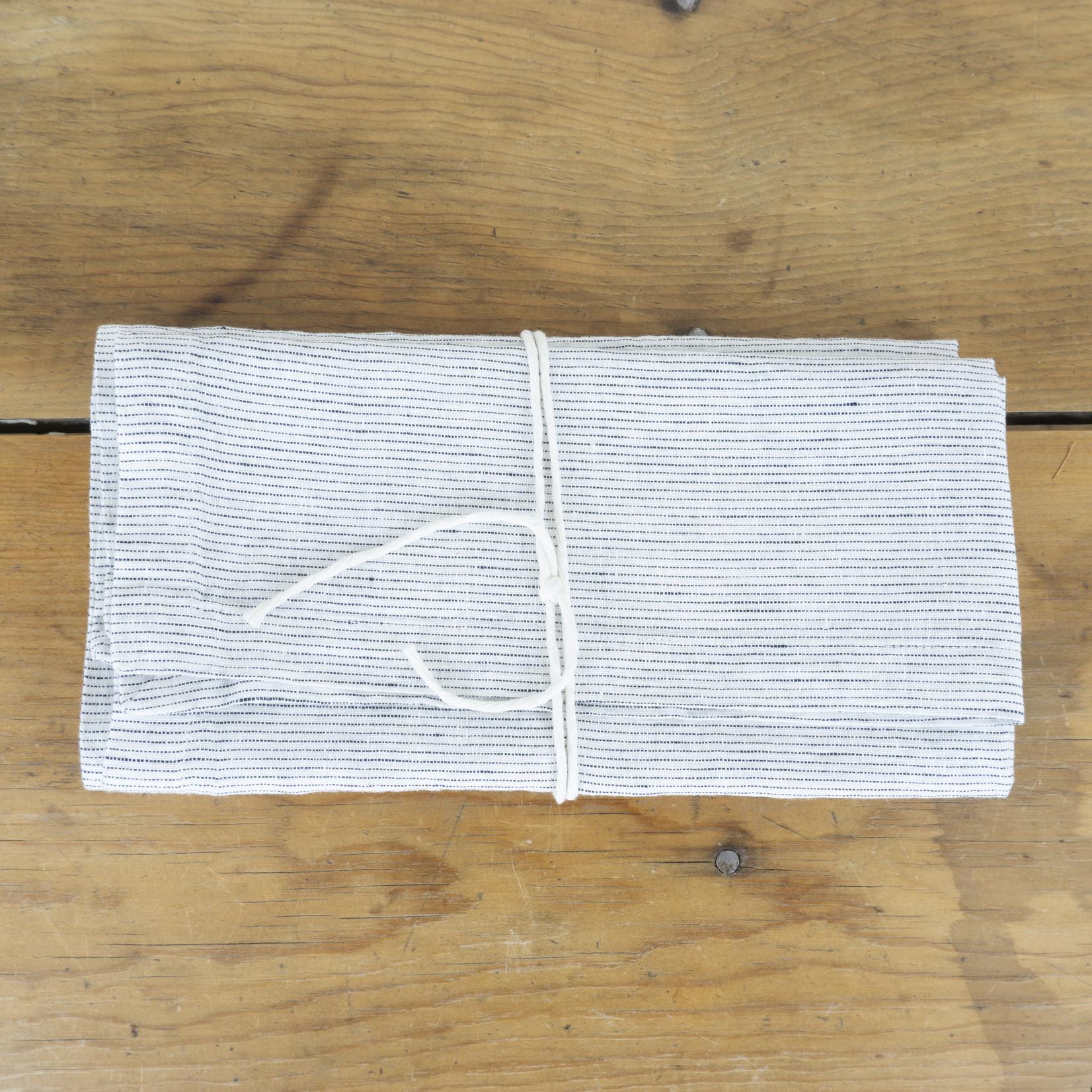 Linen Napkins - pinstripe- set of 2