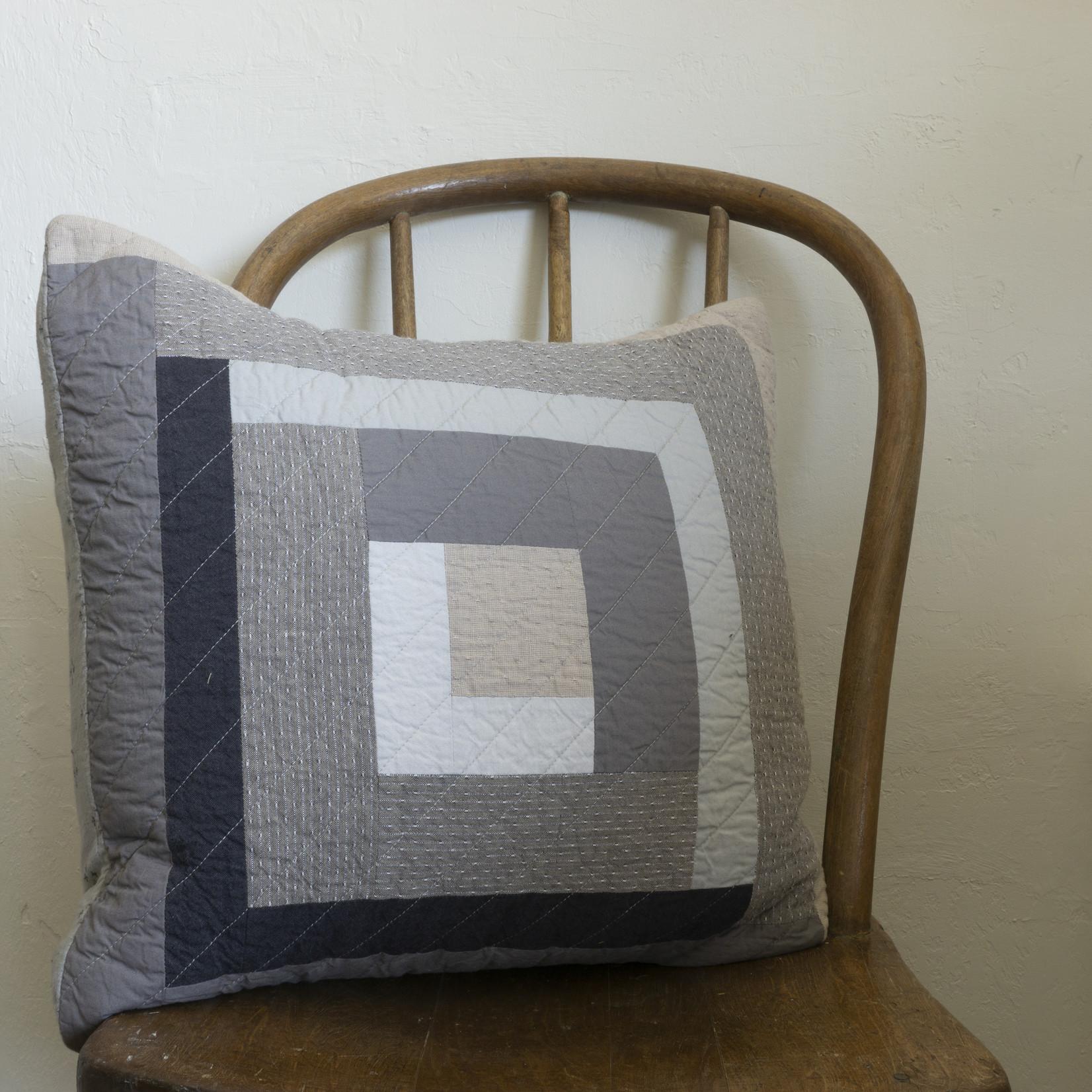 Patchwork Pillow- square version 5