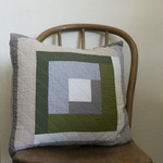 Patchwork Pillow Cover- square version 3