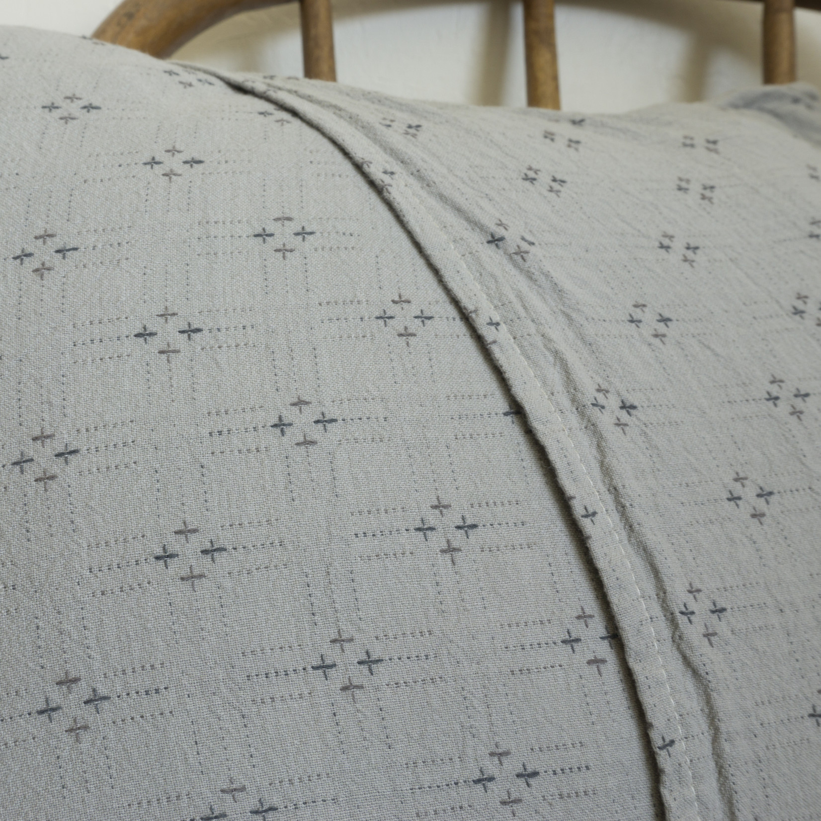 Patchwork Pillow Cover- circle version 5
