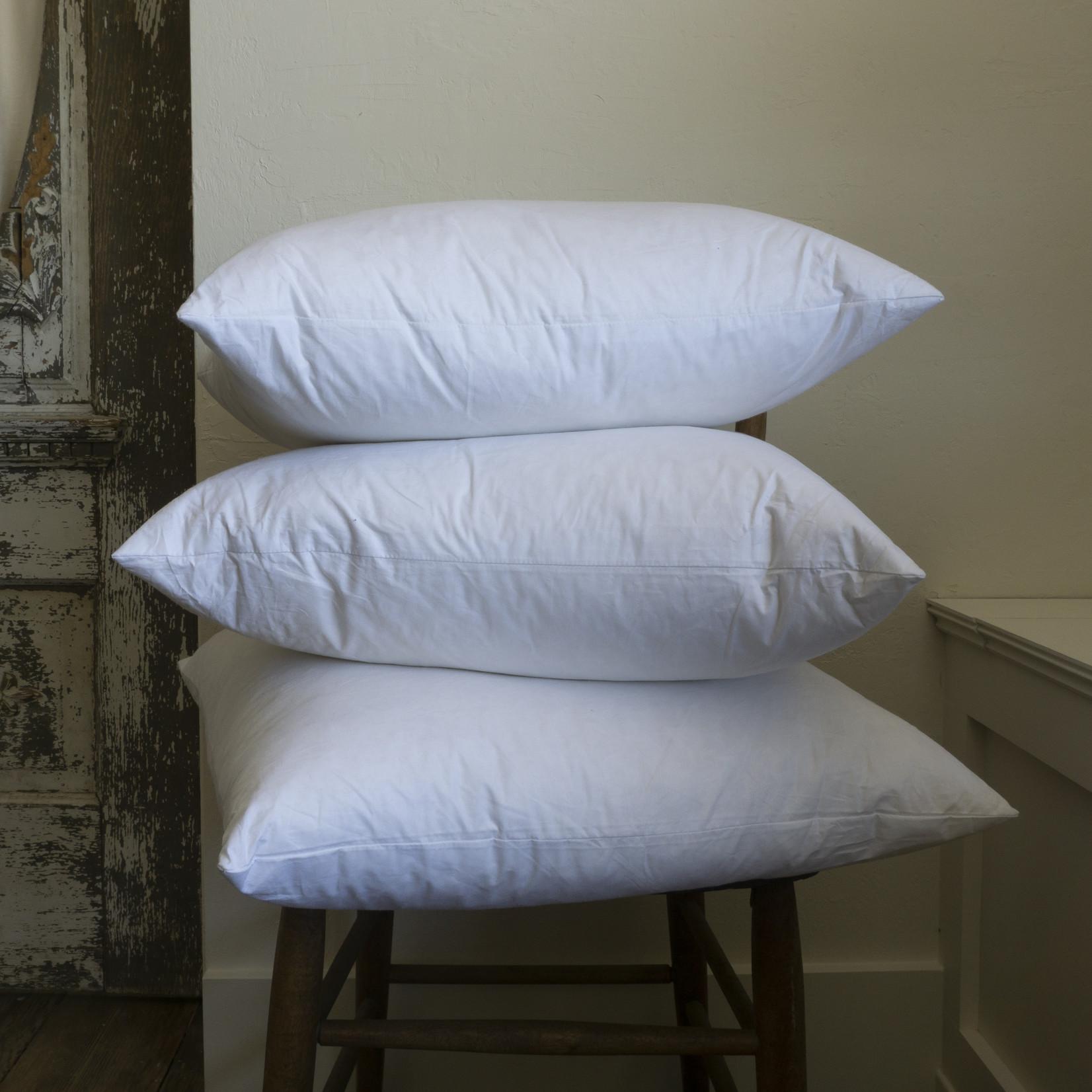 All Feather Pillow Insert- 20x20