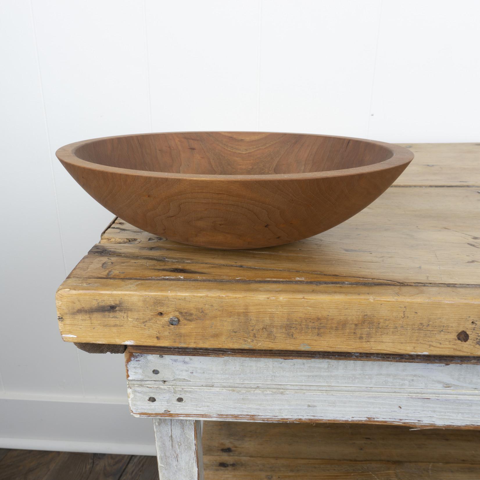 "12"" Wooden Bowl -cherry"