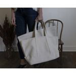 Sturdy Canvas Tote with long handles- small