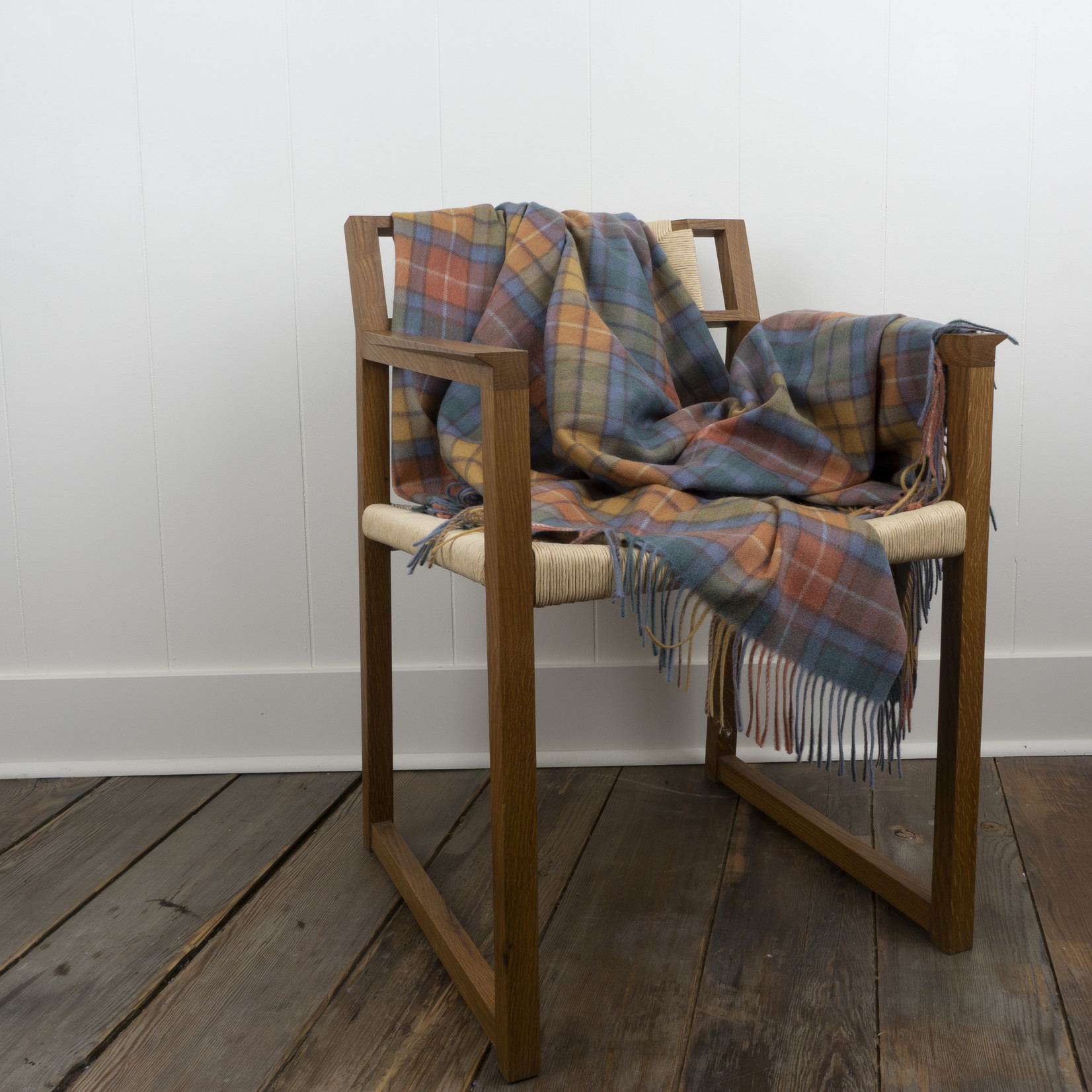 Lambswool Blanket- buchanan antique