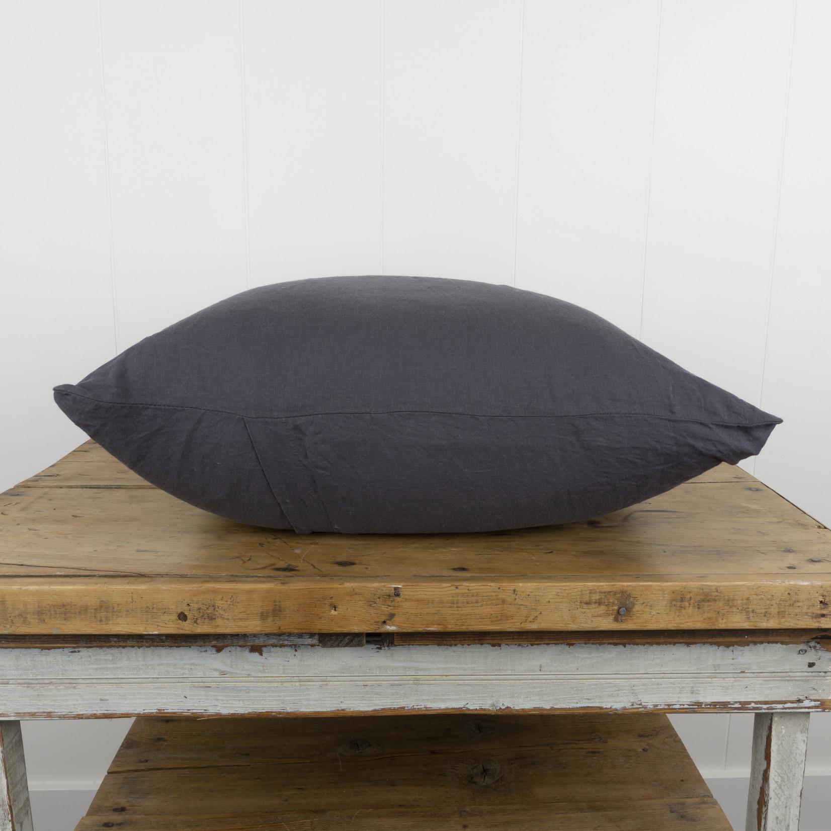 Slate Linen Euro Pillow