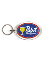 Pabst Pabst Acrylic Oval Keyring