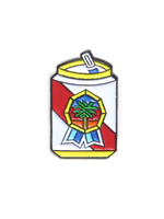 Pabst Pabst Tropical Art Can Pin