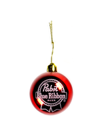 Pabst Pabst Red Ball Ornament