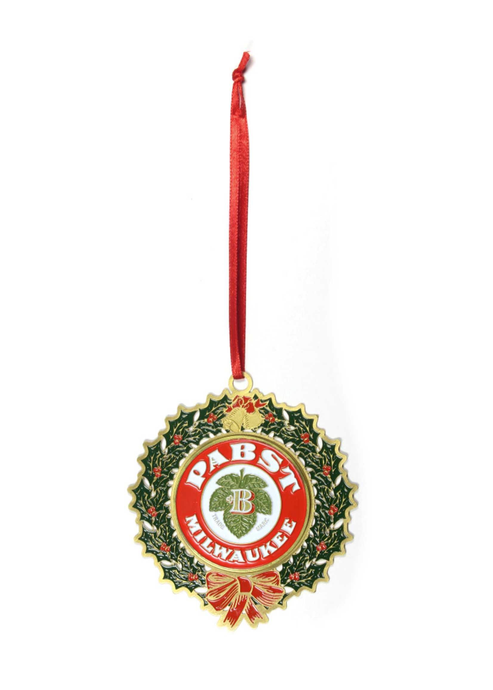 Pabst Pabst Wreath Ornament