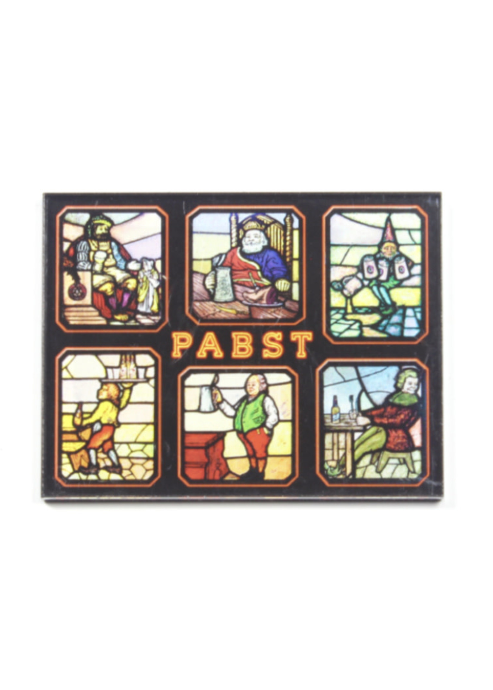 Pabst Pabst Acrylic Magnet Stained Glass