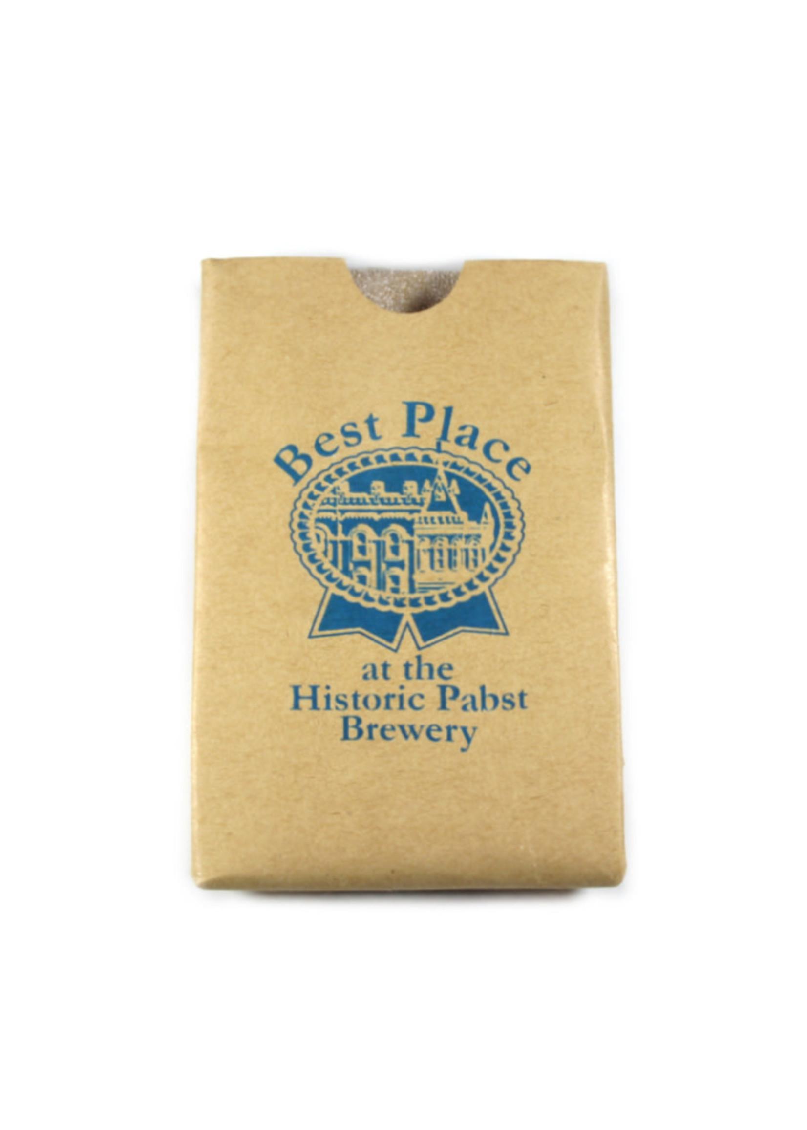 Pabst Best Place Bag Koozie 12oz