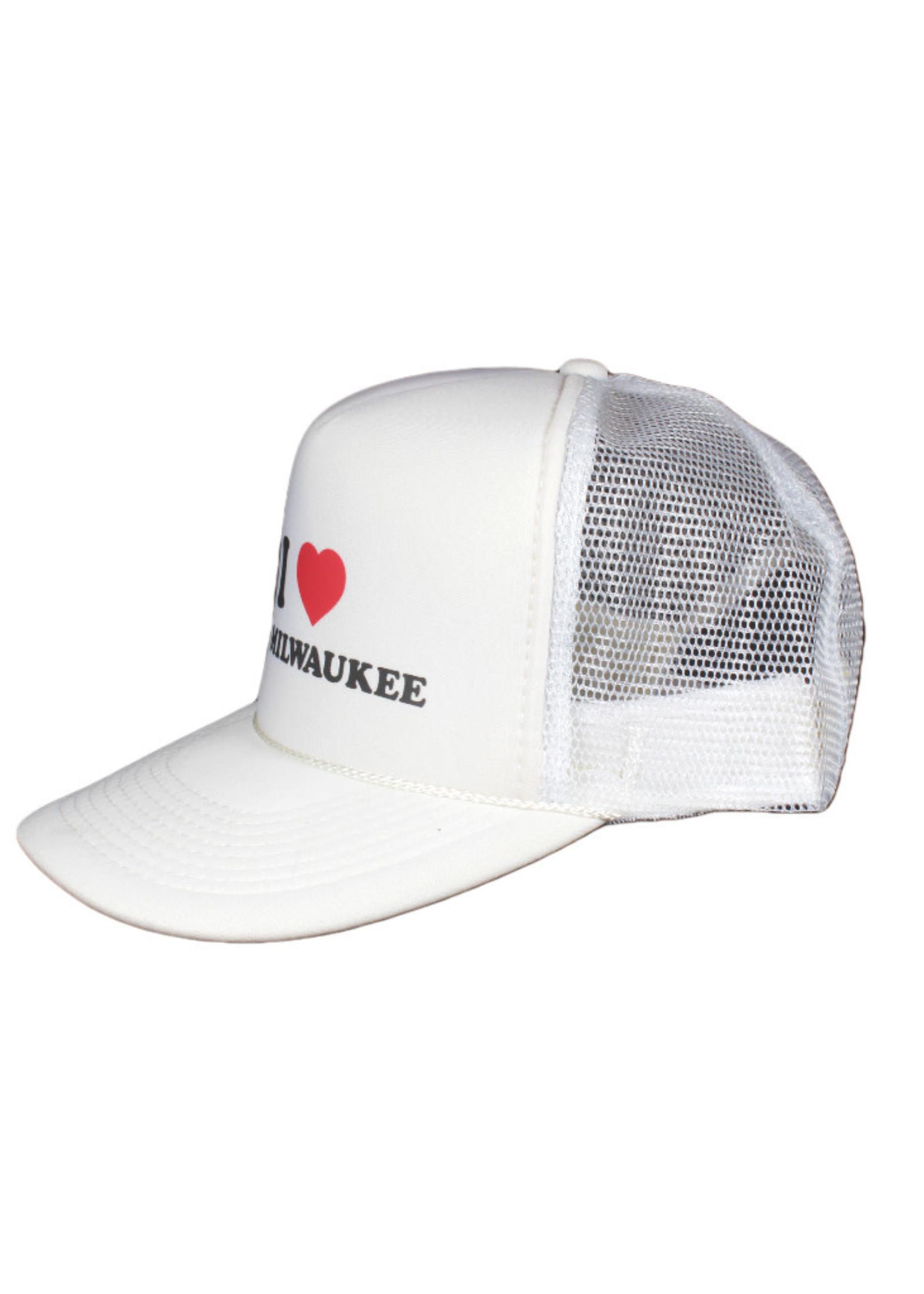 Old Milwaukee I Heart Old Milwaukee Trucker Hat