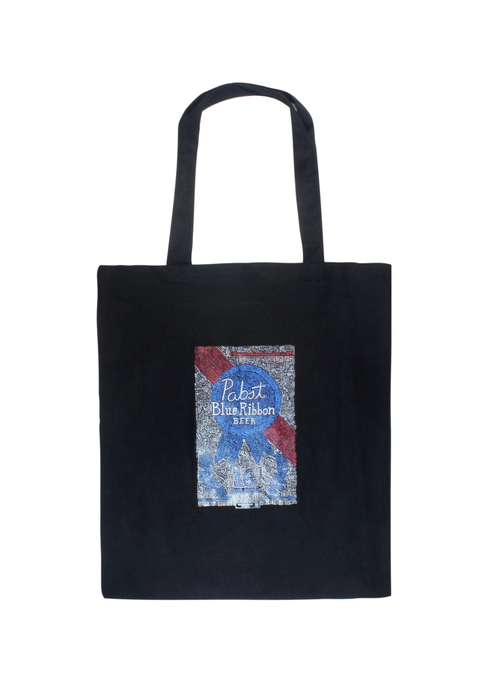 Pabst Pabst Black Art Tote Bag