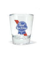 Pabst Pabst Stripe Logo Shot Glass
