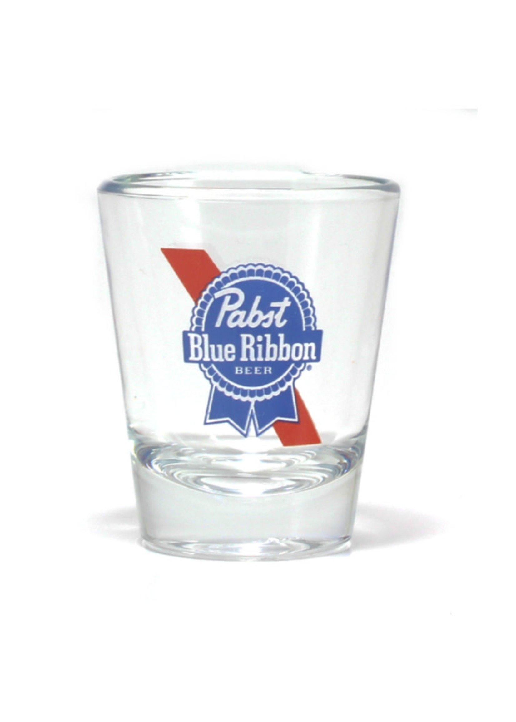 Pabst Pabst Stripe Logo Shot Glass