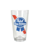 Pabst Pabst Stripe Logo Pint Glass