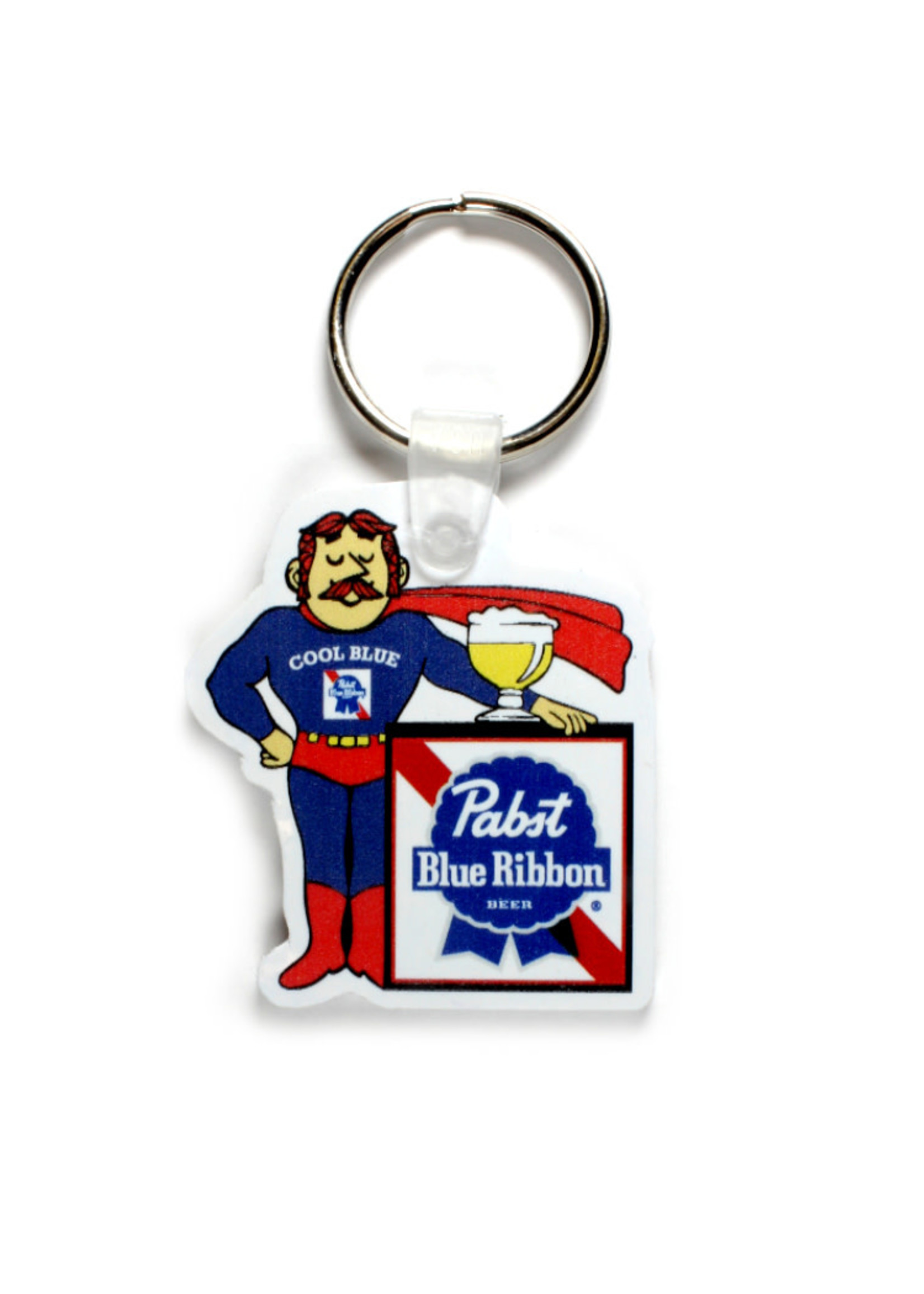 Pabst Pabst Cool Blue Keyring