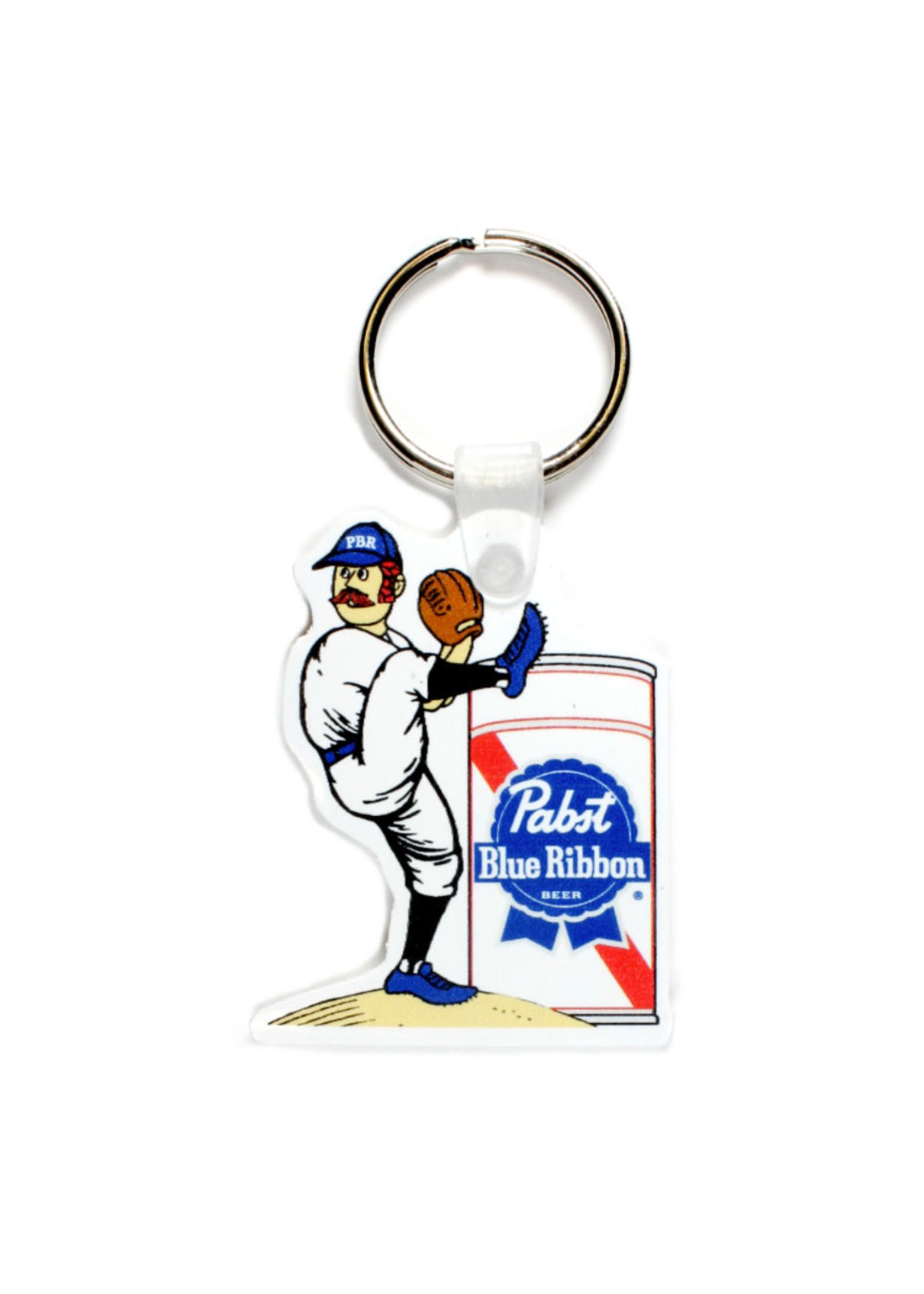 Pabst Pabst Baseball  Keyring