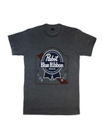 Pabst Pabst Charcoal Arch Tee