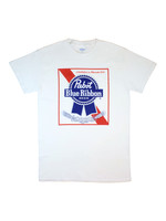 Pabst Pabst White Logo Tee
