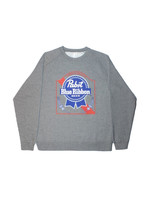 Pabst Pabst Arch Crew Neck Grey