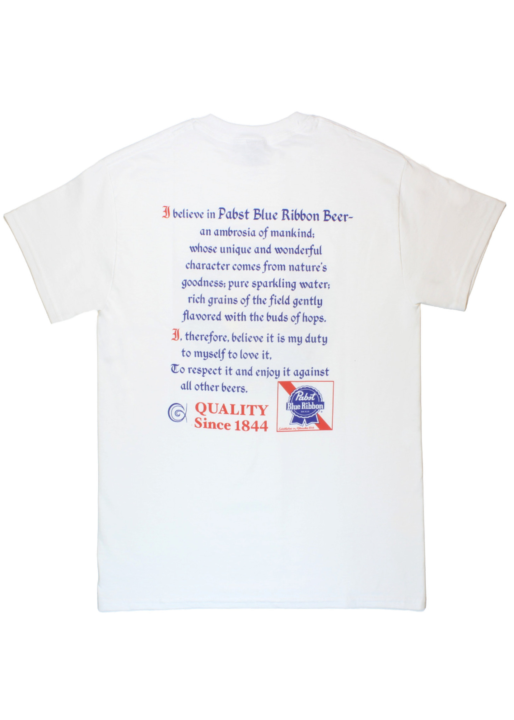 Pabst Pabst Beer Man's Creed Tee