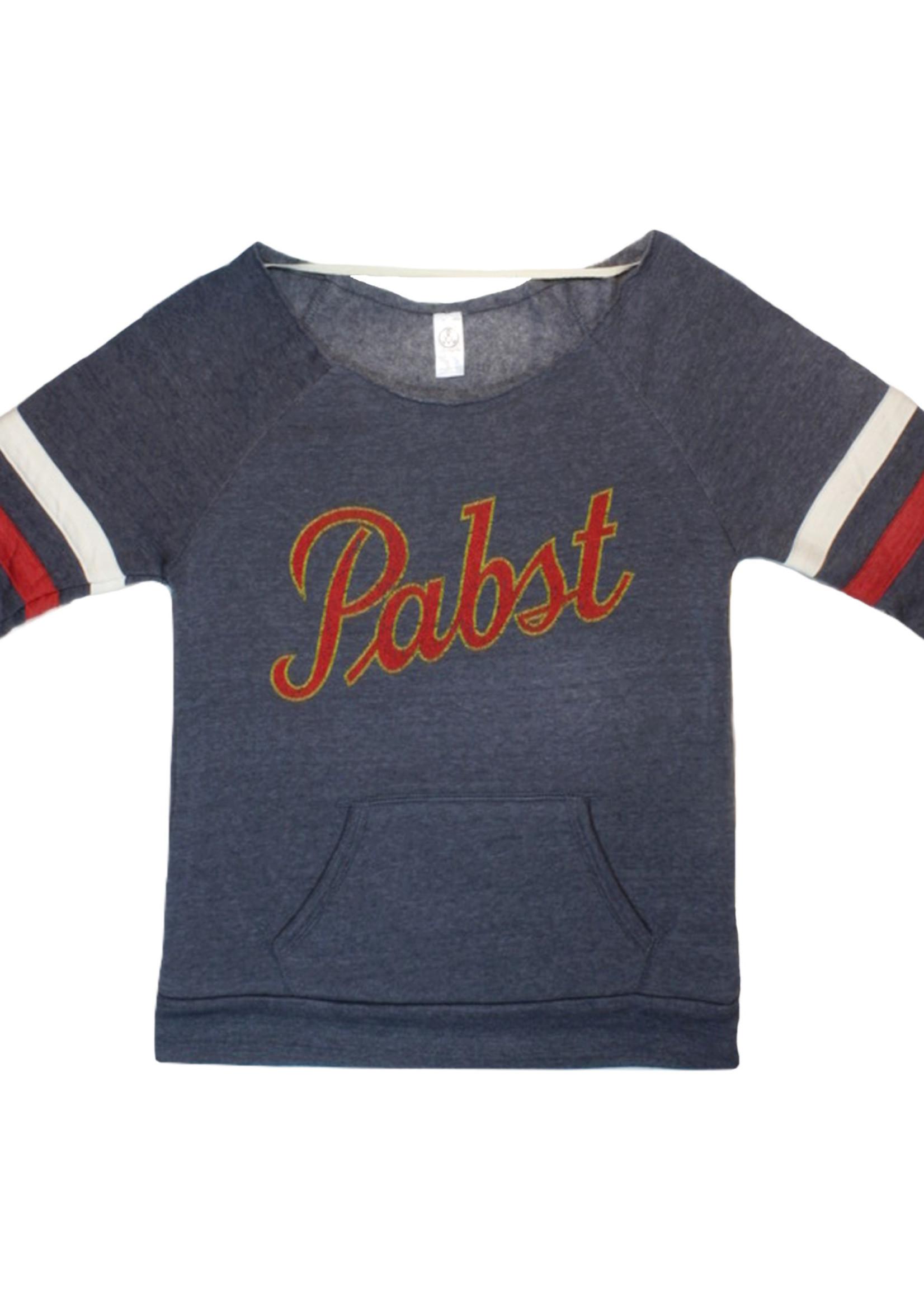 Pabst Women's Pabst Vintage Script Maniac Sweatshirt