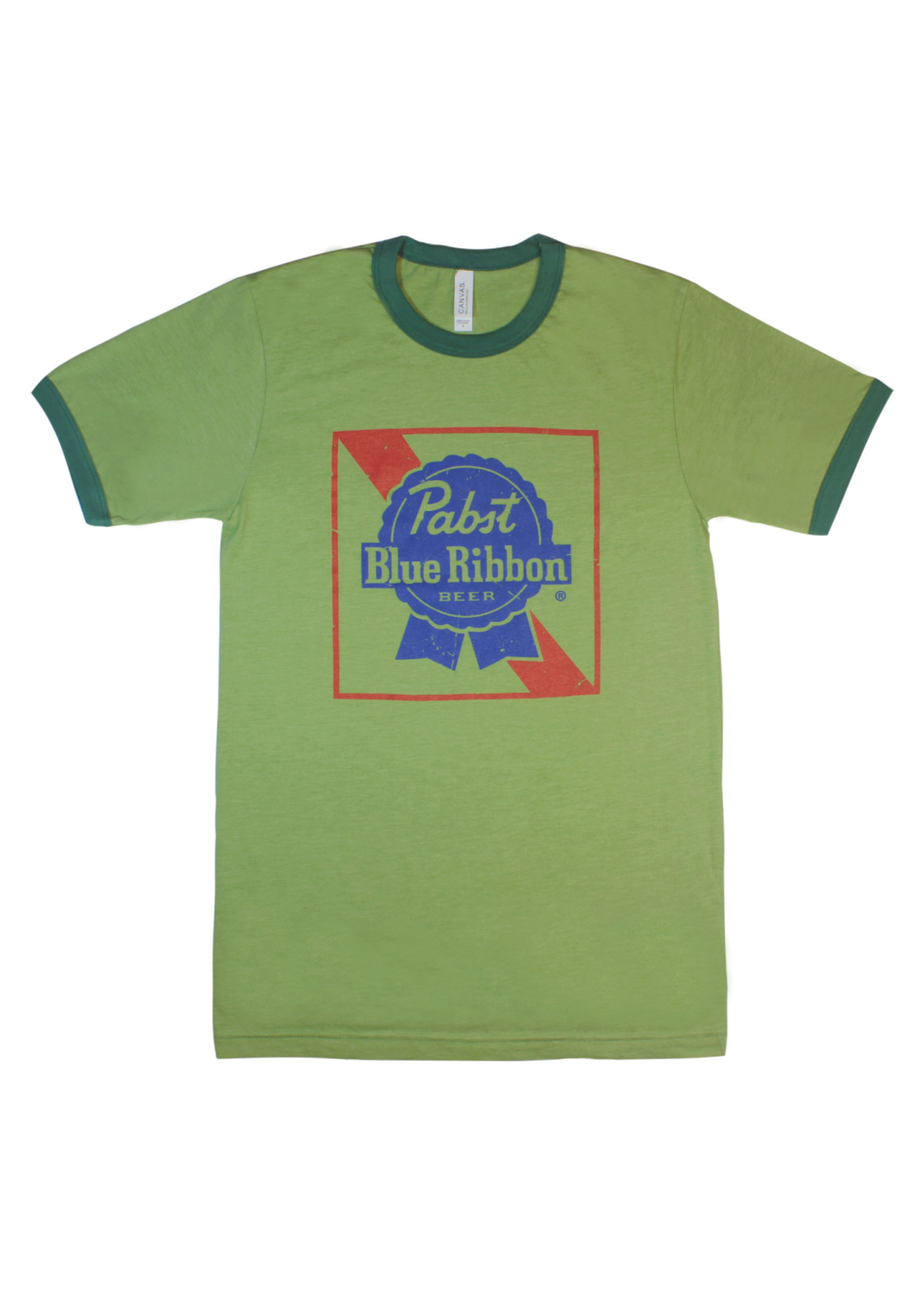 Pabst Pabst Frank The Tank Green Tee