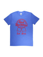 Pabst Pabst Team Tee Heather Royal/Red