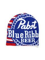 Pabst Pabst RWB Striped Beanie