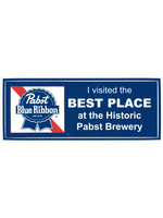 Pabst I Visited the Best Place Sticker
