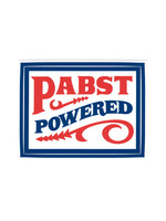Pabst Pabst Powered Sticker