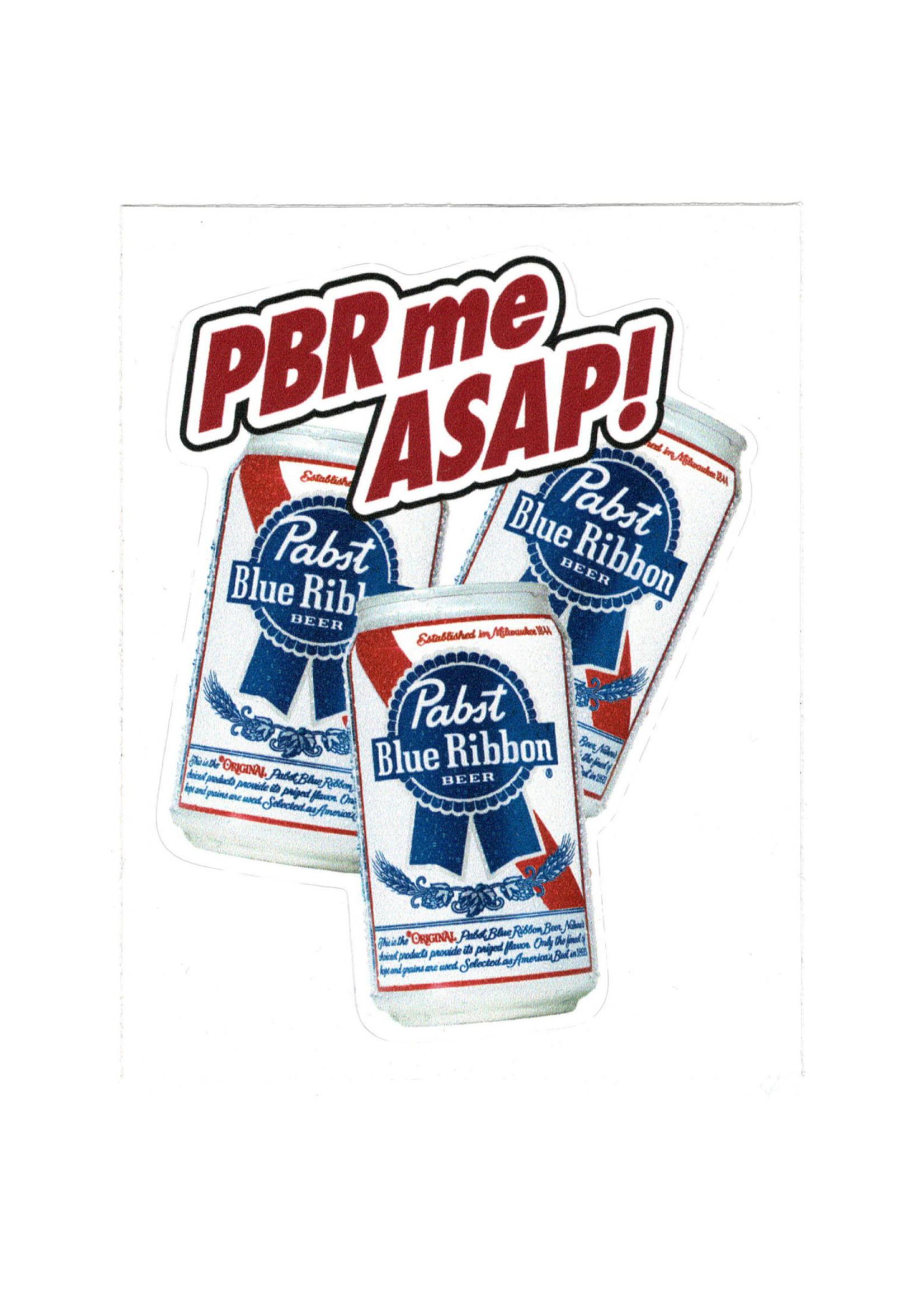 Pabst PBR me ASAP Sticker