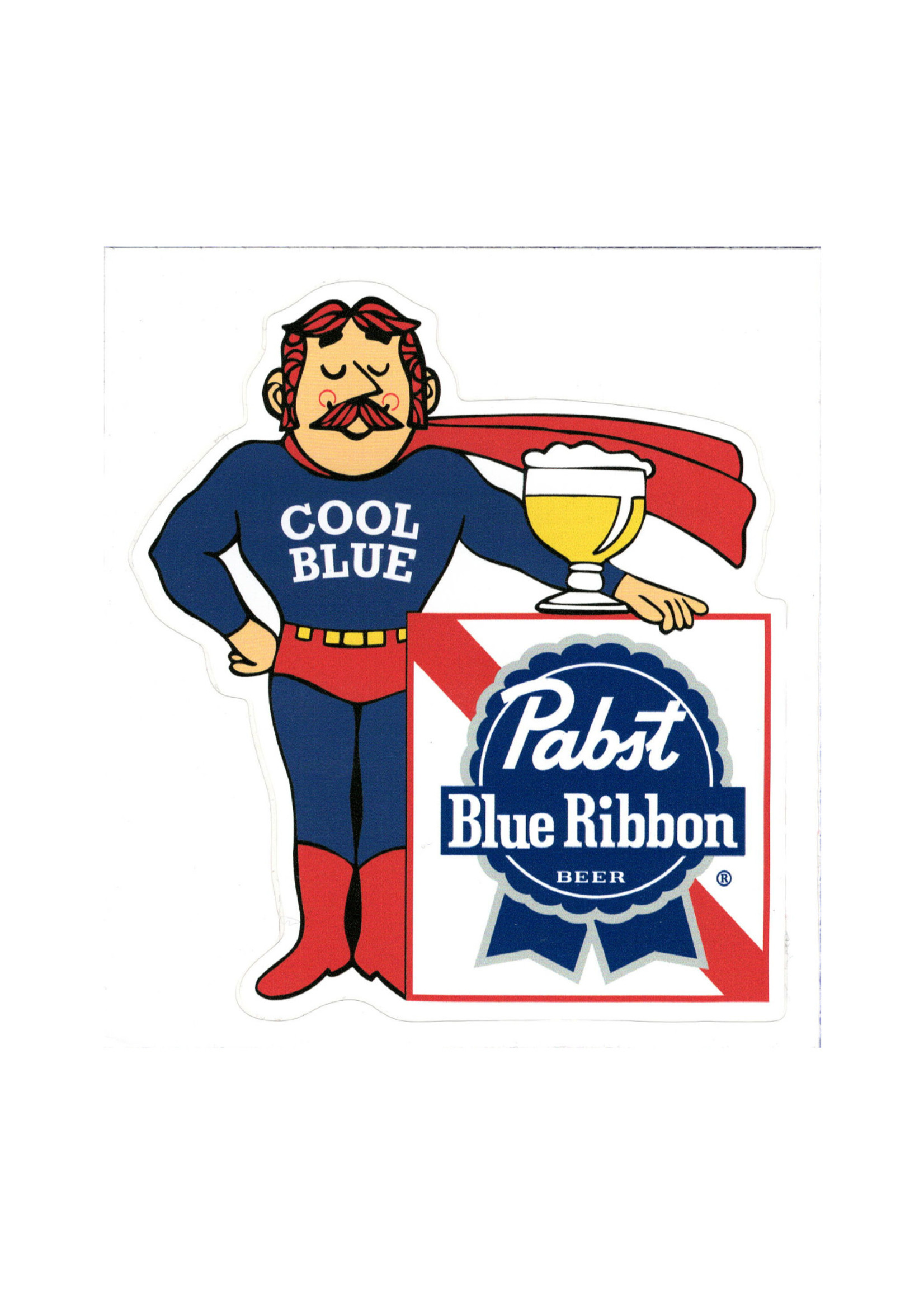 Pabst Pabst Cool Blue Sticker