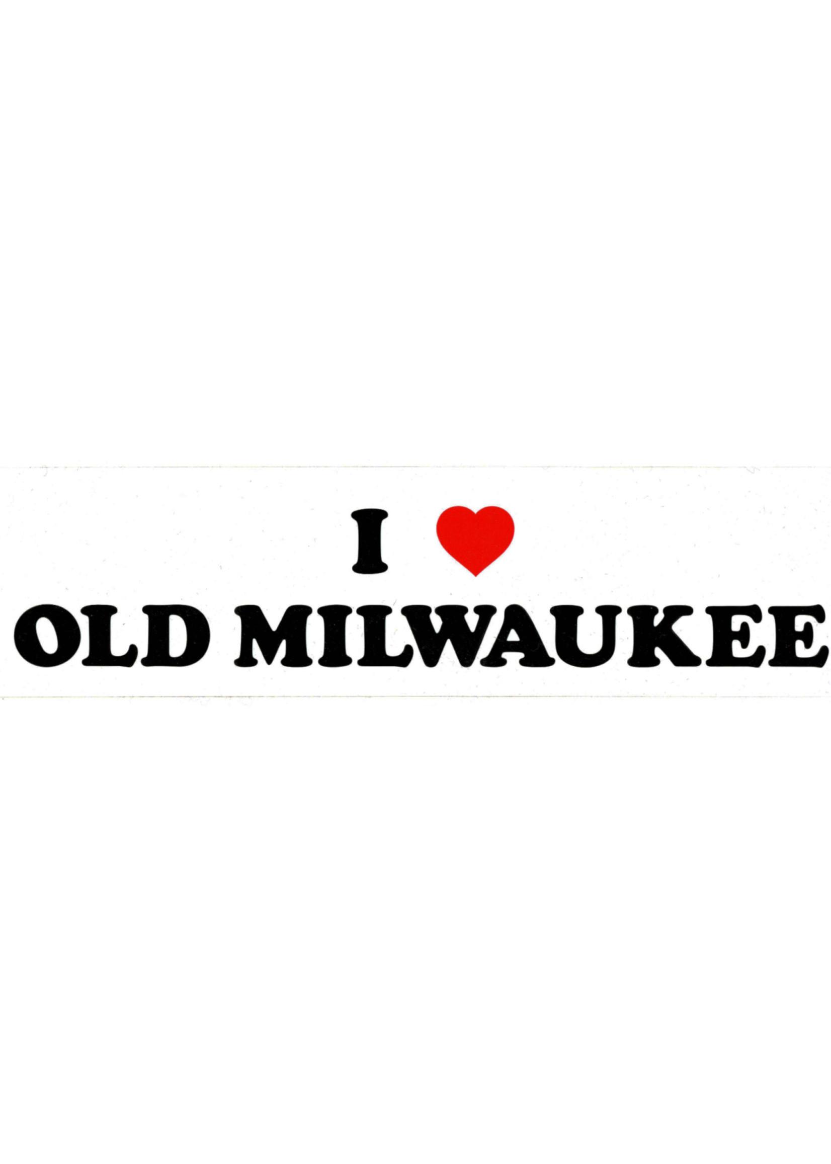 Old Milwaukee Old Milwaukee Bumper Sticker