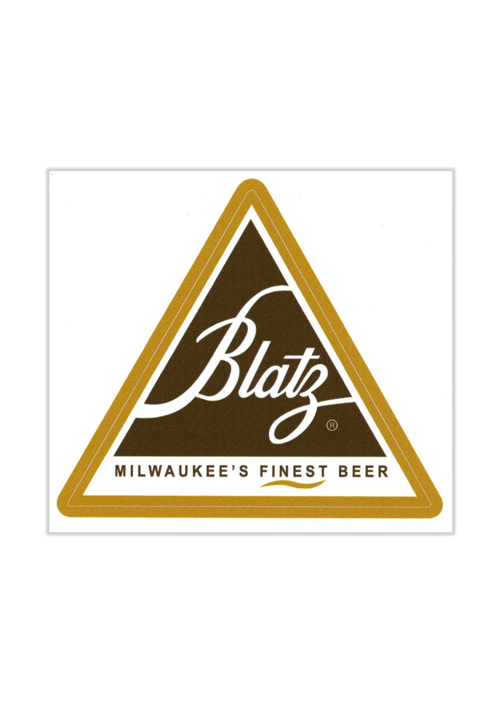 Blatz Blatz Triangle Logo Sticker
