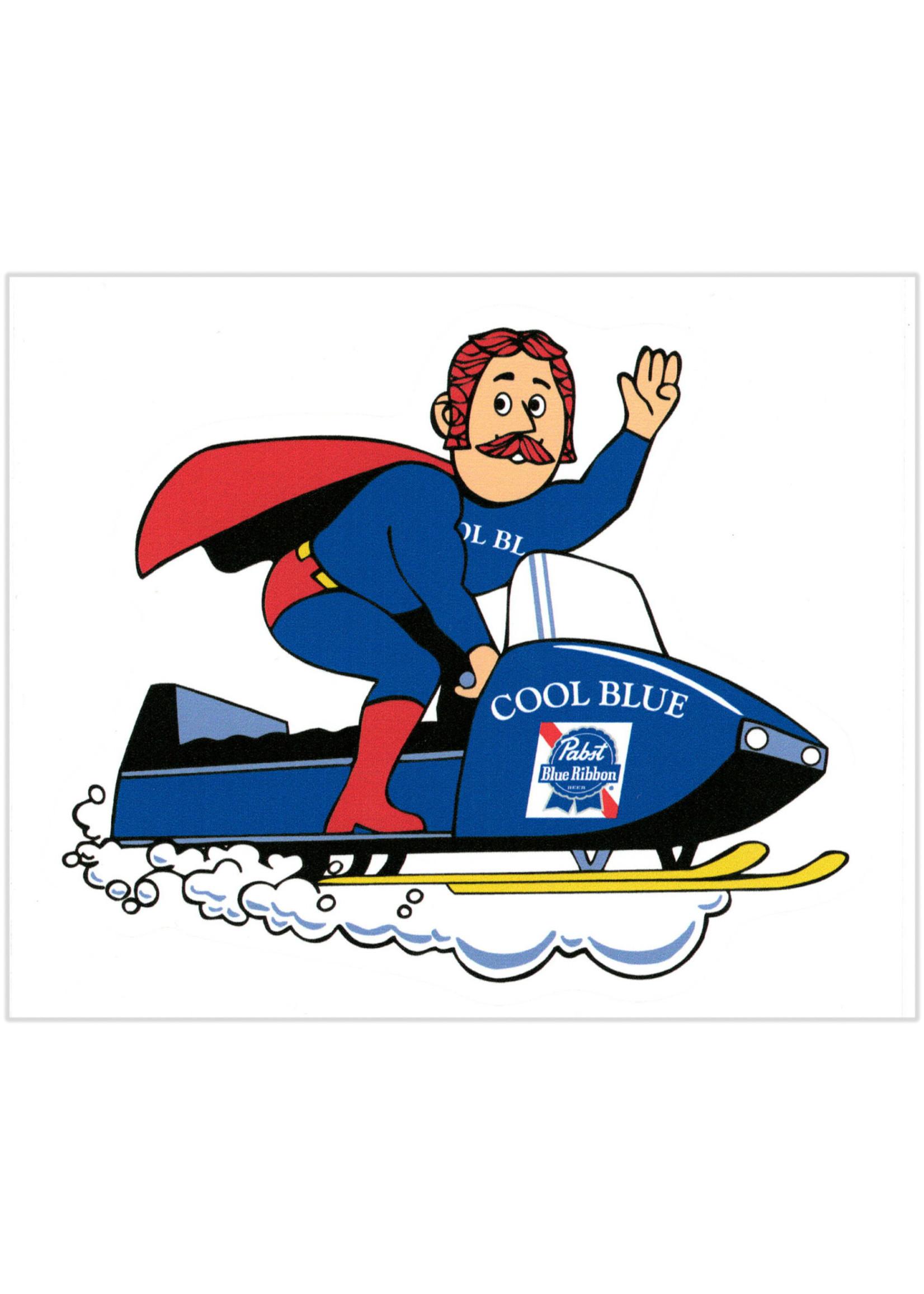 Pabst Pabst Snowmobiler Sticker
