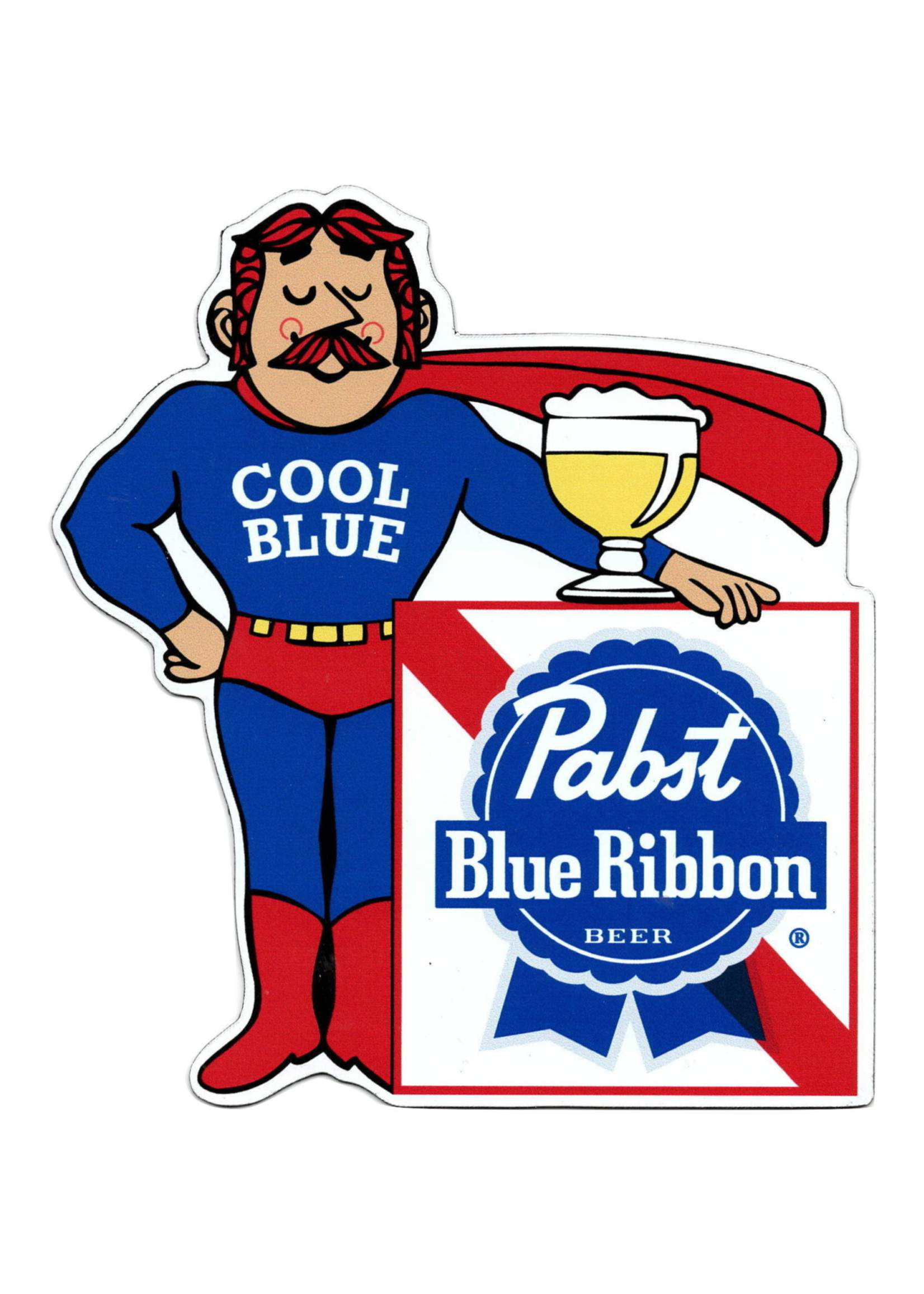 Pabst Pabst Cool Blue Magnet