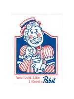 Pabst Pabst Bartender Sticker