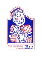 Pabst Pabst Bartender Magnet