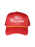 Old Milwaukee Old Milwaukee Red Trucker Hat