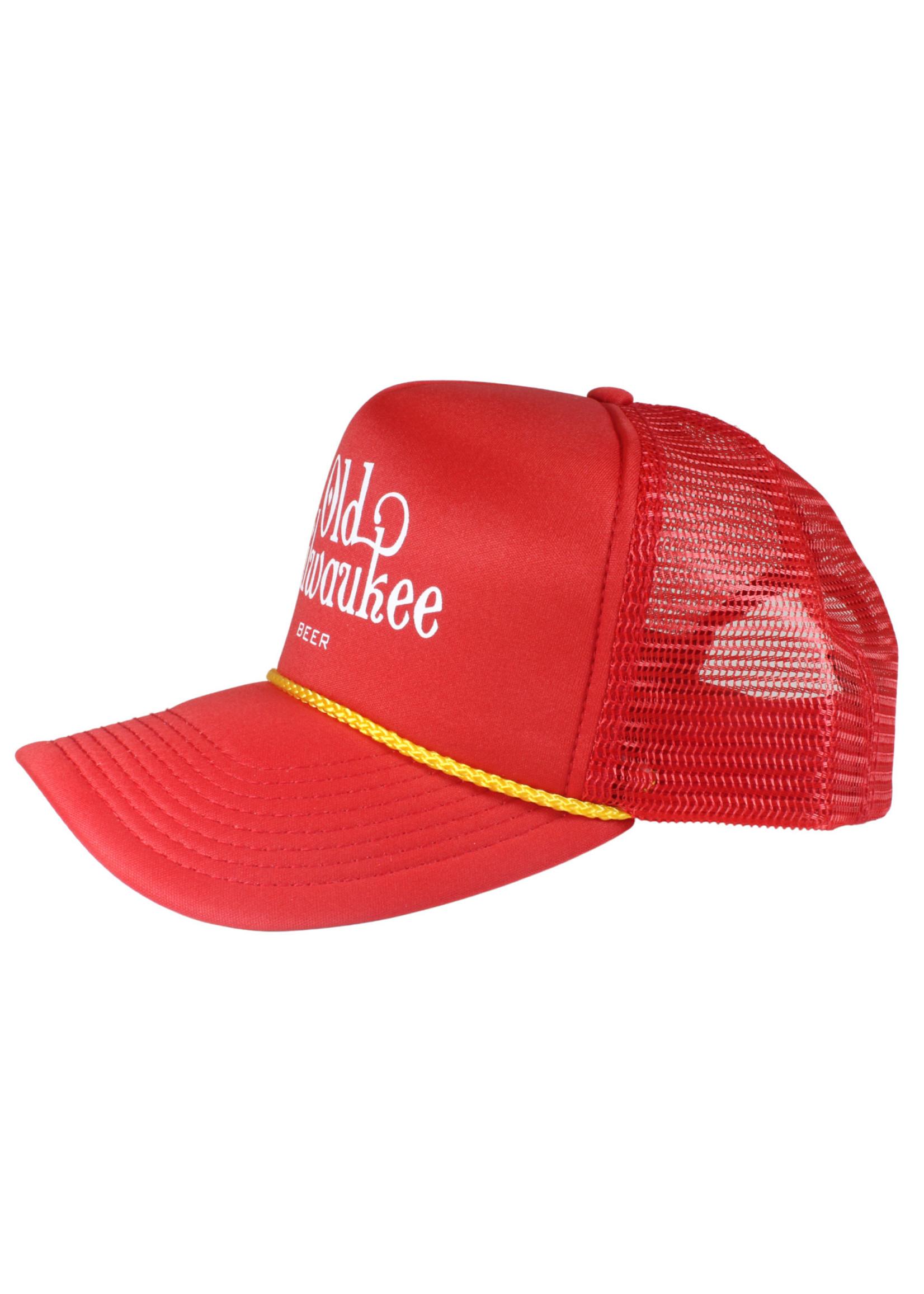 Old Milwaukee Old Milwaukee Red Trucker Hat