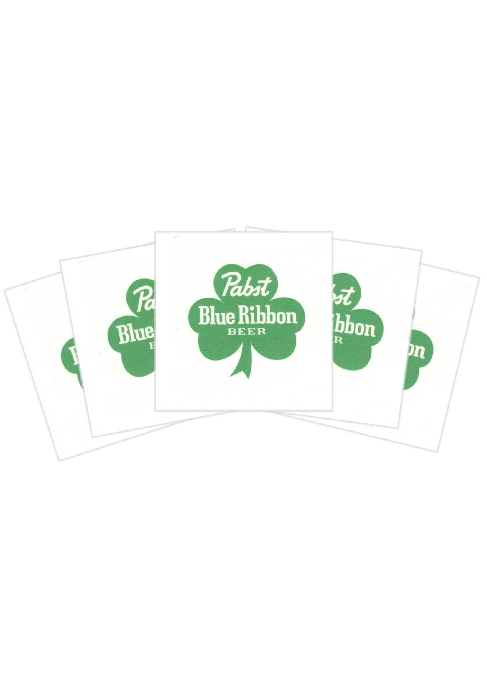 Pabst Pabst Shamrock Tattoo 5 Pack